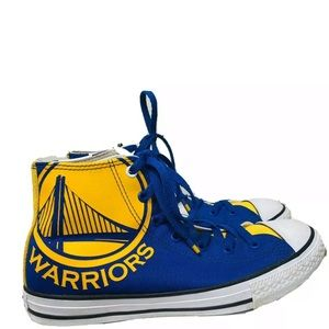 Converse Chuck Taylor Youth NBA Golden State Shoes